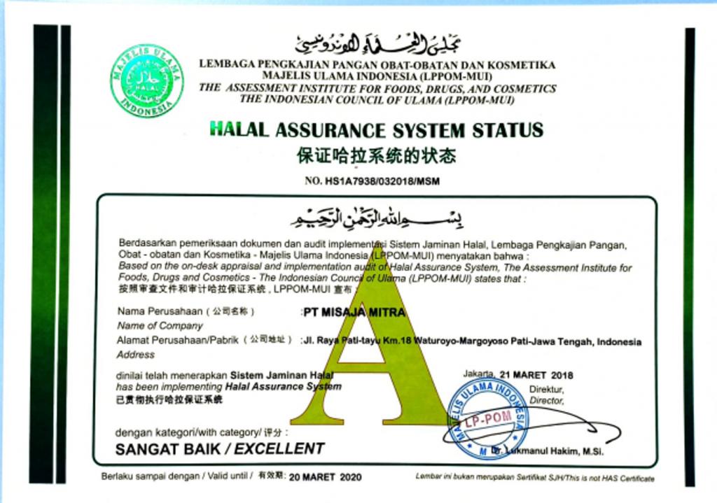 Halal Grade A